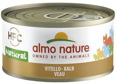 Almo Nature HFC Natural Chats - boîte - veau (70 gr)