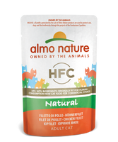 Almo Nature HFC Natural Chats - pochette - poulet (55 gr)