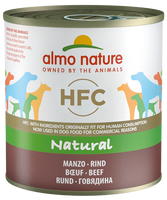 Almo Nature HFC Natural Chiens - boîte - bœuf