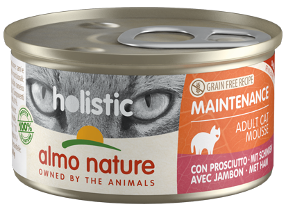 Almo Nature Holistic Chats Maintenance - boîte - jambon (85 gr)