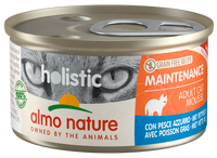 Almo Nature Holistic Chats Maintenance - boîte - poisson gras (85 gr)