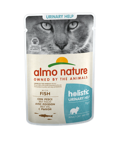 Almo Nature Holistic Chats Urinary - pochette - poisson (70 gr)