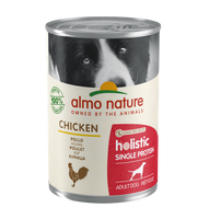 Almo Nature Holistic Chiens Single Protein - boîte - poulet (400 gr)
