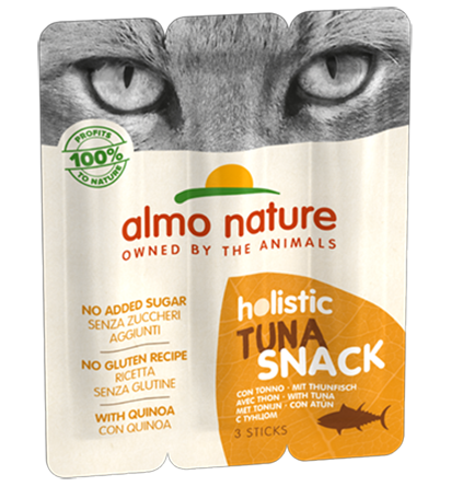 Almo Nature Holistic Snack Chats - thon (3 x 5 gr)