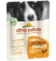 Almo Nature Holistic Snack Chiens - poulet (3 x 10 gr)