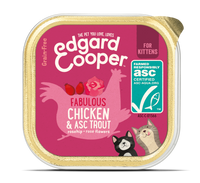 Edgard & Cooper barquette pour chatons - poulet (85 gr)