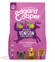 Edgard & Cooper for adult dogs - venison (2,5 KG)