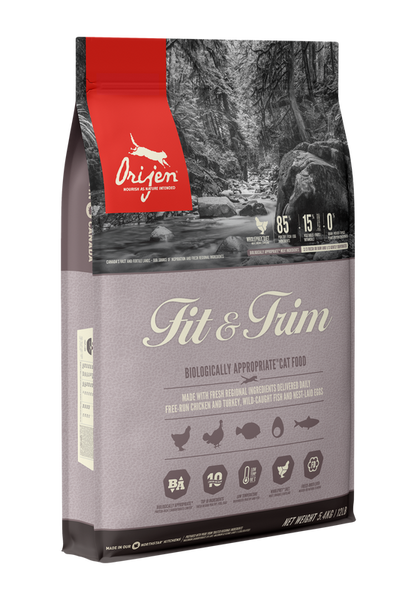 Orijen WHOLE PREY Cat Fit & Trim