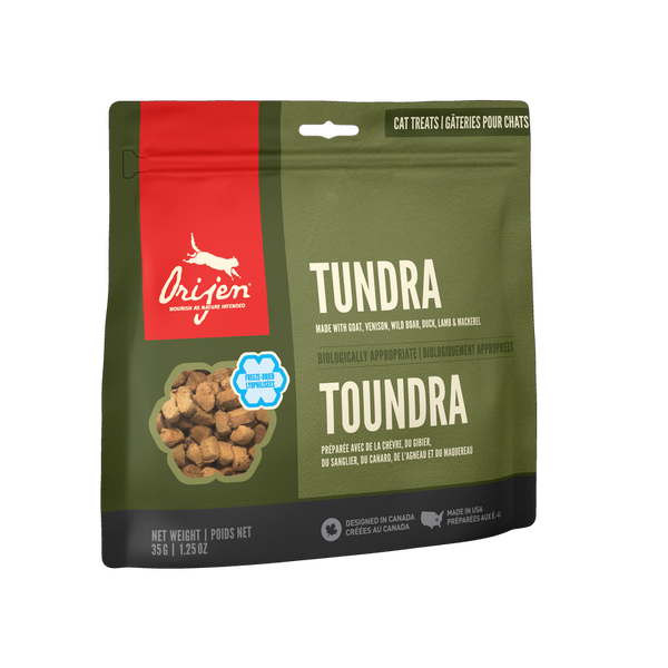 Orijen FREEZE-DRIED TREATS Cat Tundra 35 gr