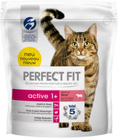 PERFECT FIT Active 1+ pour chats - bœuf (1,4KG)