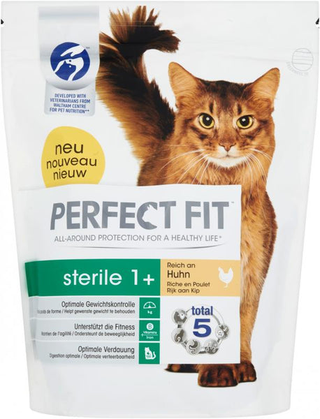 PERFECT FIT Sterile 1+ pour chats - poulet (750gr)