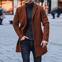 Load image into Gallery viewer, Men's Classic Casual Solid Color Buttoned Men's Winter Coats