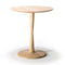 Ethnicraft Torsion Round Dining Table