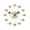 Vitra Accessoires Wall Clocks Ball Clock Messing