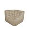 Ethnicraft N701 Sofa Eckelement Beige
