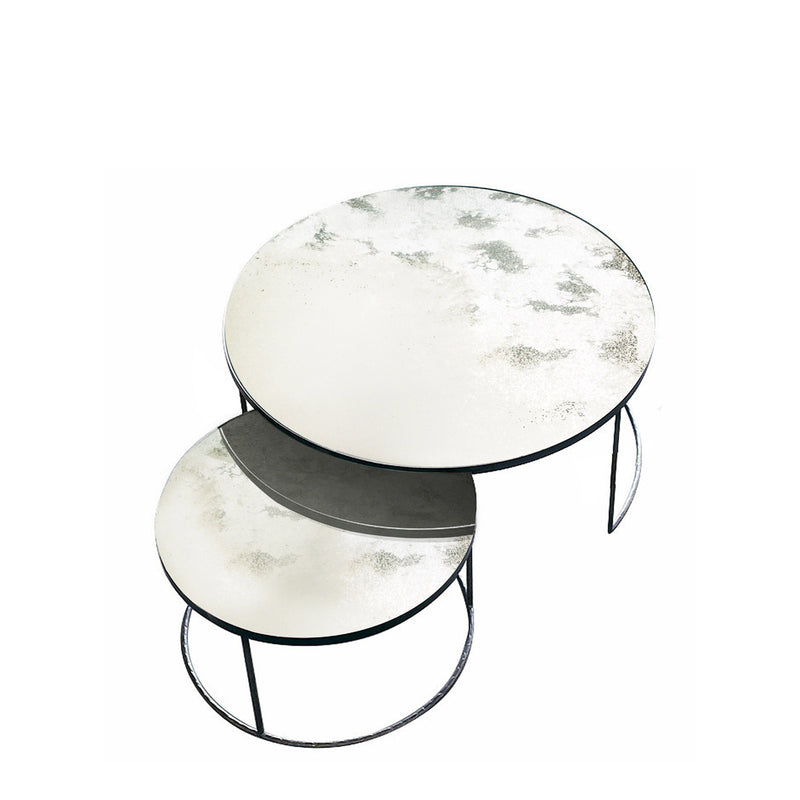 Ethnicraft Nesting Coffee Table Set Of 2