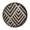 Ethnicraft URBAN GEOMETRIC GRAPHITE CHEVRON Tablett