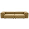 Vetsak Sofa 2 Medium 4 Side Velvet