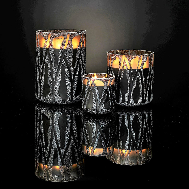 Onno Candle Nature Grey XL - Zanzibar