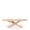 Ethnicraft Mikado Dining Table Oval