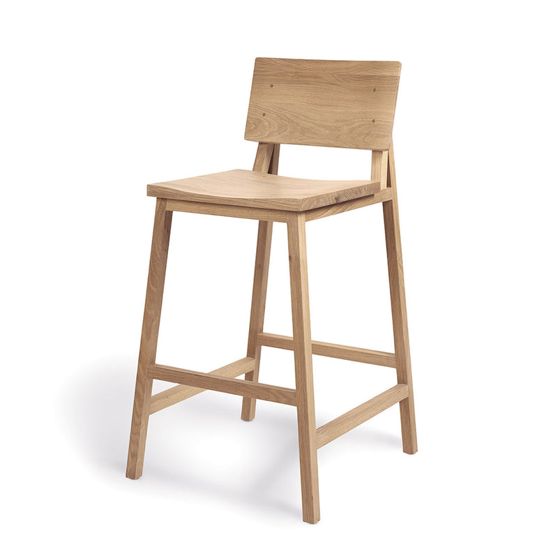 Ethnicraft N3 Kitchen Counter Stool