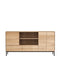 Ethnicraft Whitebird Sideboard - Open