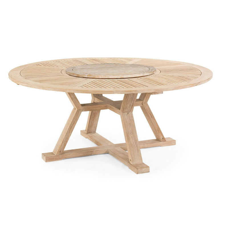 Brafab Circus Dining Table Natural Color 180 x 75cm
