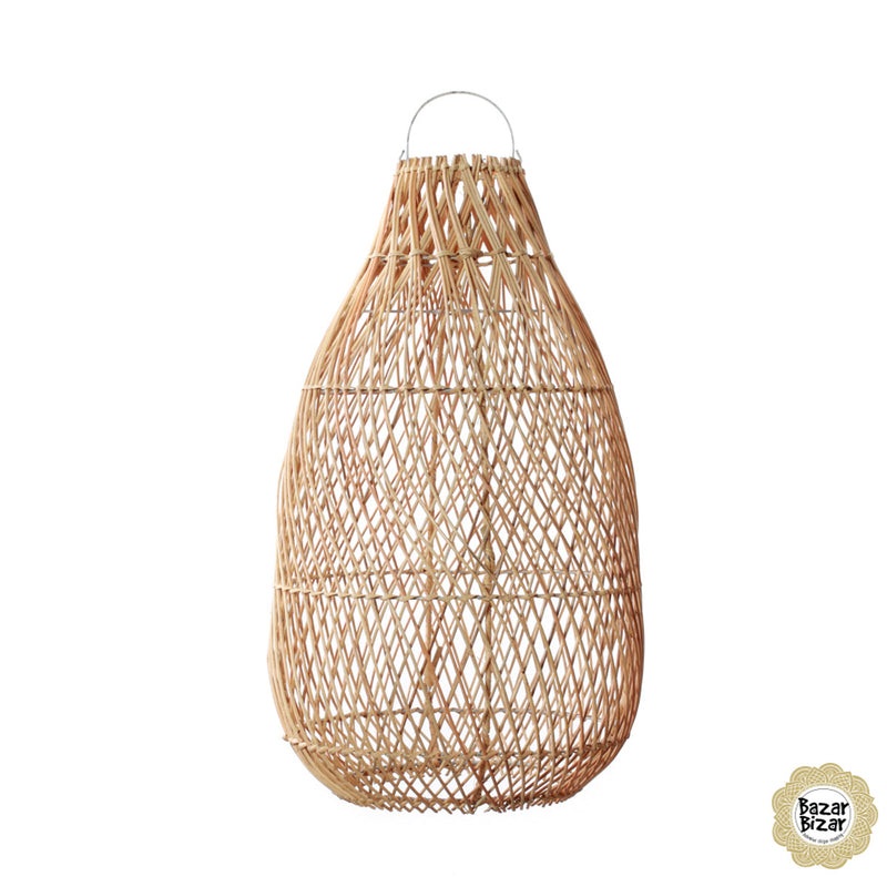 Bazar Bizar Lighting The Kendi Pendant – Natural - M