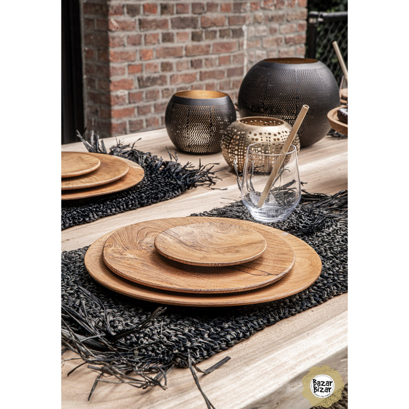 Bazar Bizar The Fringe Raffia Placemat Rectangular
