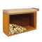 Ofyr Butcher Block Storage 135 Corten Rubberwood