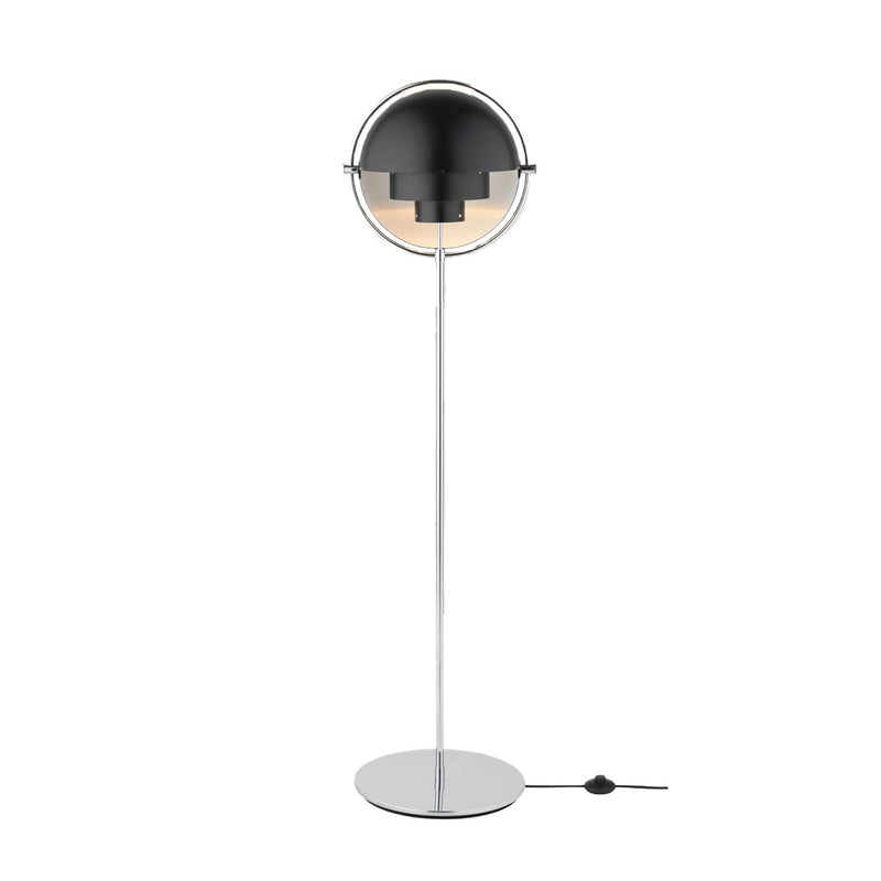 Gubi MOON Multi-Lite Stehleuchte Chrome