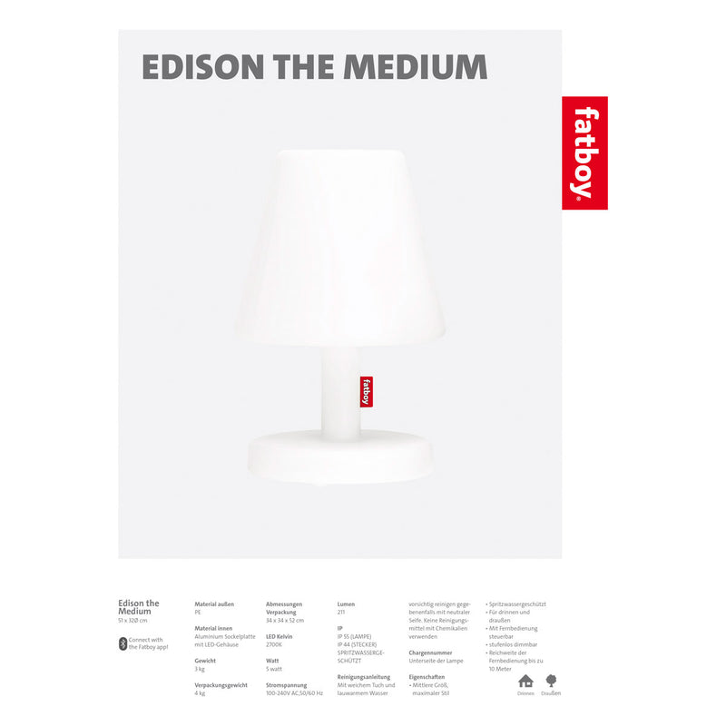 Fatboy EDISON THE MEDIUM Lampe