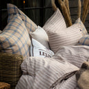 Lexington Fall Striped Cotton Flannel Pillowcase