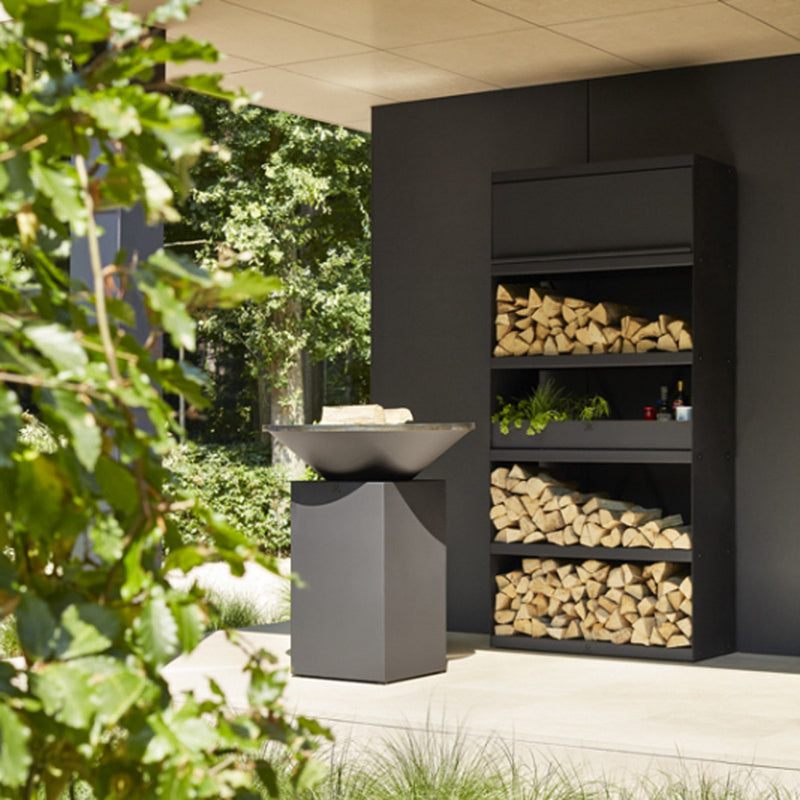 Ofyr Wood Storage Black 200