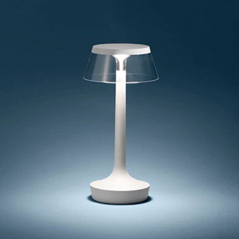 Flos BON JOUR Unplugged Lampe de Table - White fabric