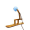Piffany Lighting Mr. Wattson Snowboard Stand Ash Wood