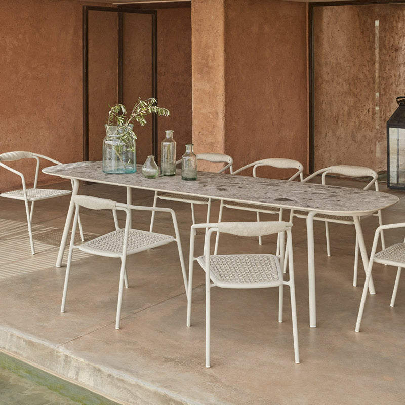 Manutti Minus Dining Table Flint 220x100