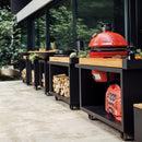 Ofyr Kamado Table Black Pro 135 Teakholz KJ