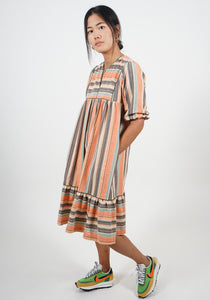 Pollyjean Dress in Monaco Stripe