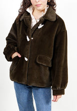 Load image into Gallery viewer, Cobain Faux Chinchilla Fur Jacket