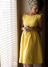 Load image into Gallery viewer, Chrissie Dress in Albern Yellow