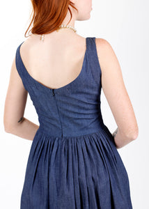 Ivy Dress in Chambray