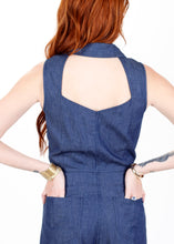 Load image into Gallery viewer, Jo Jumpsuit in Chambray