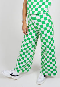 Captain Knit Pant - Fast Time Green