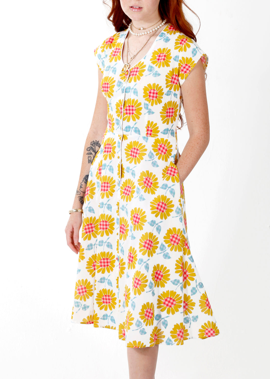 Hepburn Dress in Park Life