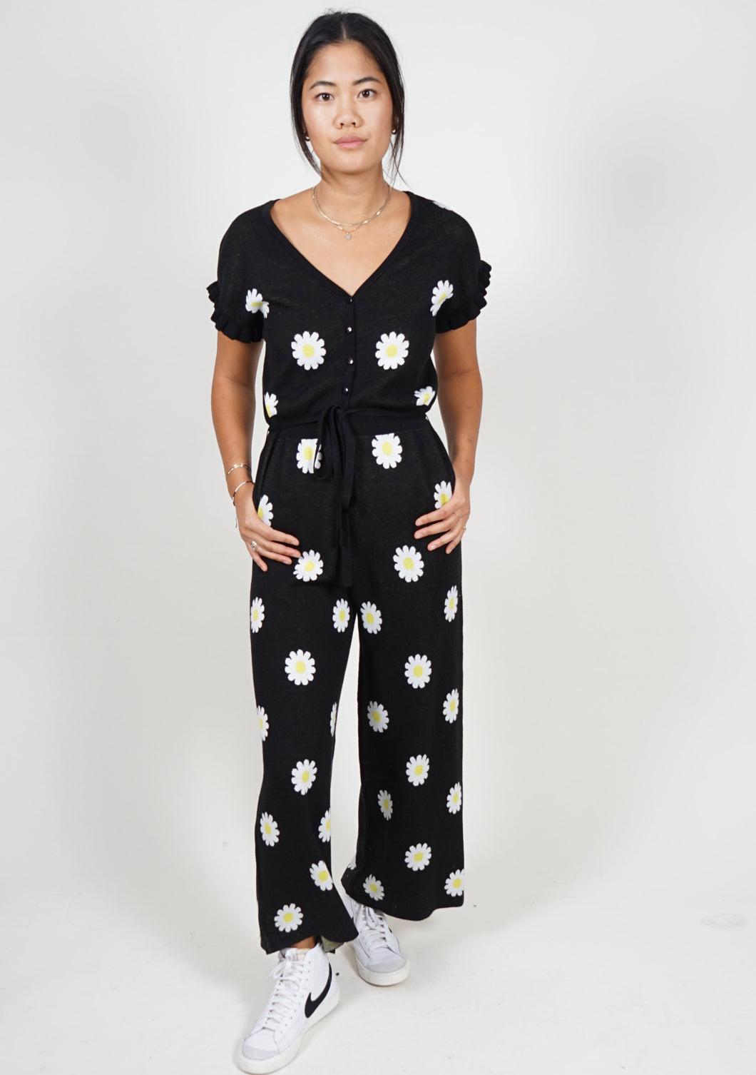 Phil Jumpsuit in Please Don't Eat The Daisy