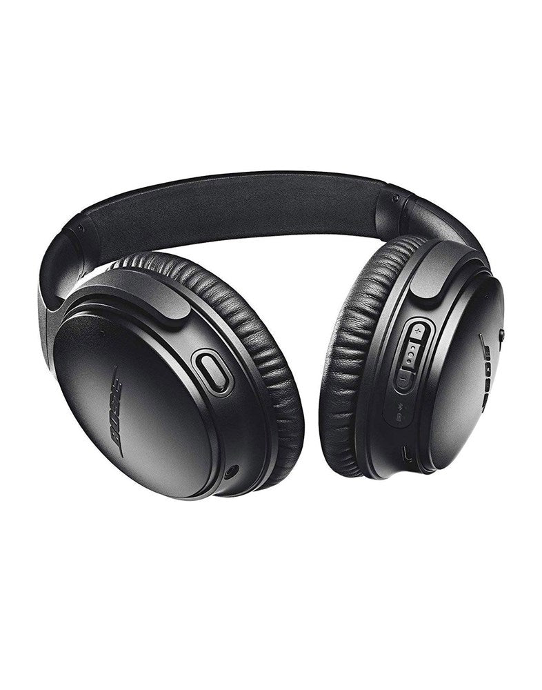 Bose Quiet Comfort QC35-II Wireless Noise Cancelling Over Ear Headphones Black Multipoint Pairing Connects At Once Excellent Microphones For Voice Calls Google Assistant & Amazon Alexa Integration (Brand New)