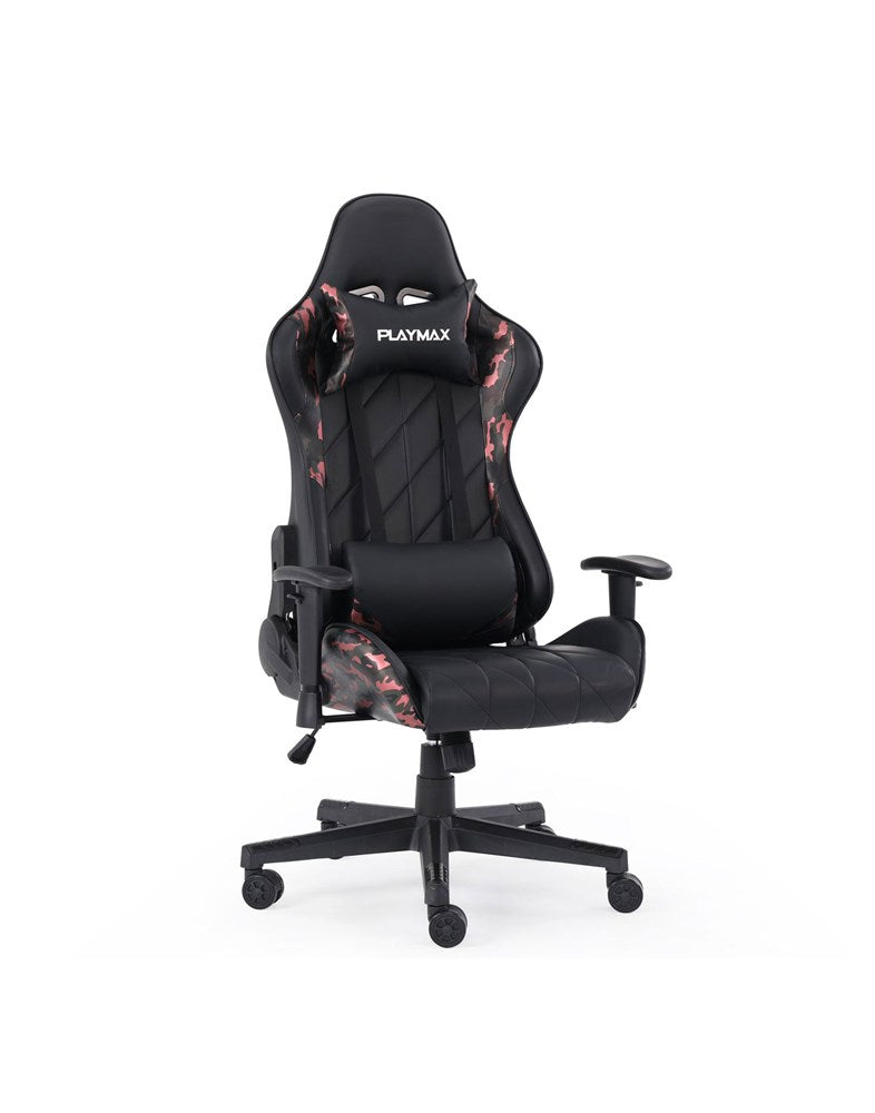 Playmax Elite Gaming Chair Red Camo