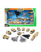 Military Vehicles Scaled Army Stealth Bomber, Tank, Helicopter, Toy Set (Brand New)