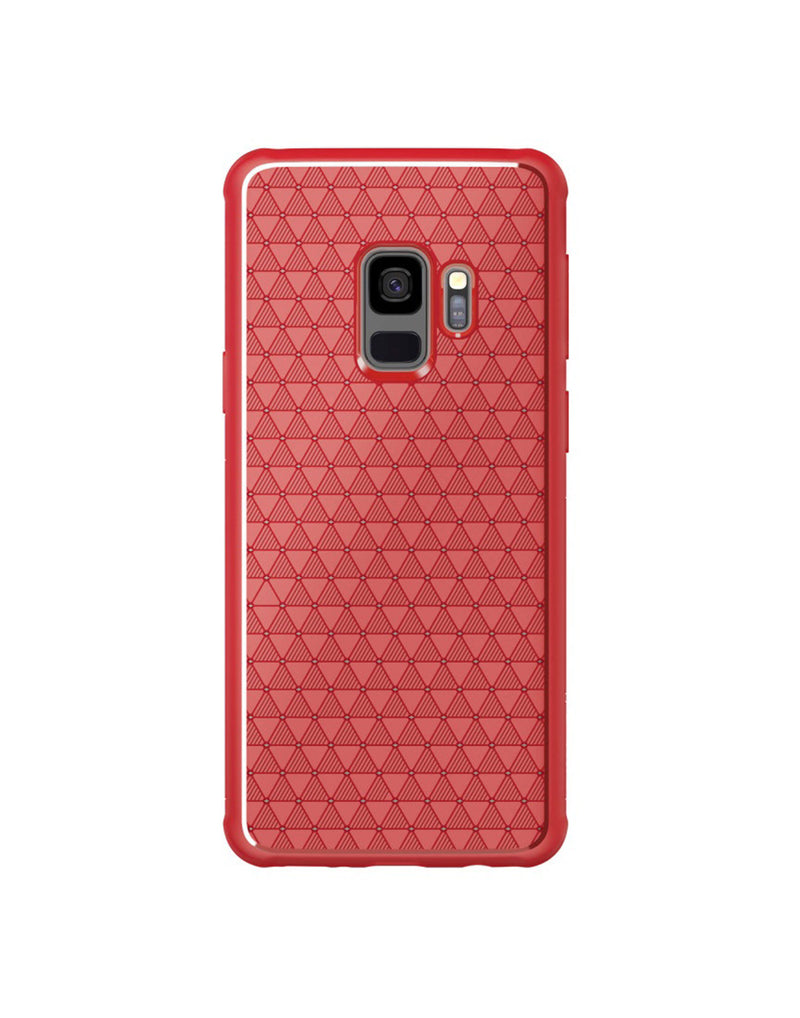 Nillkin Galaxy S9 Weave Case Red (5467905360033)